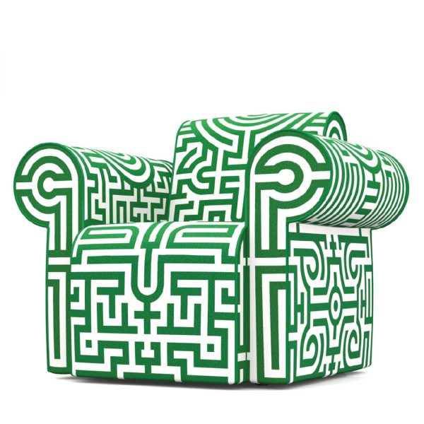 labyrinth_groen_fauteuil_moooi