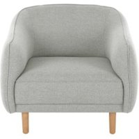 Haring fauteuil, zilvergrijs CHAHRN008GRY-ME