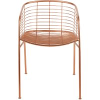 Alessio Carver Chair, Copper CHALES001COP-UK