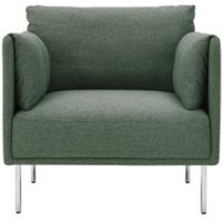 Mitski fauteuil, Darby groen CHAMIT002GRE-ME