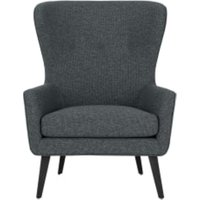 Shelby fauteuil, Sherwin grijs Weave CHASHE001GRY-ME